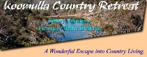 Koomulla Country Retreat - Accommodation in Bendigo