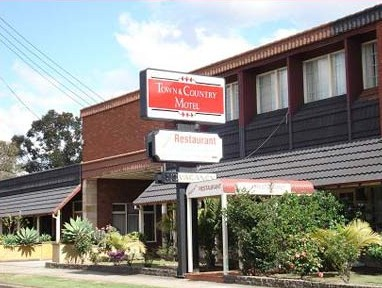 Town  Country Motel - Accommodation in Bendigo