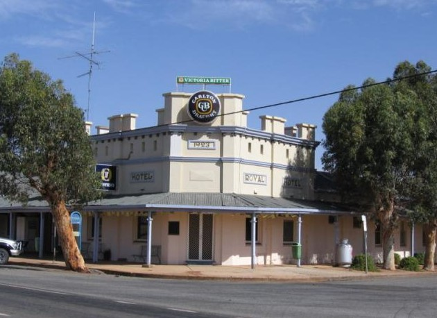 Royal Hotel Grong Grong - Accommodation in Bendigo