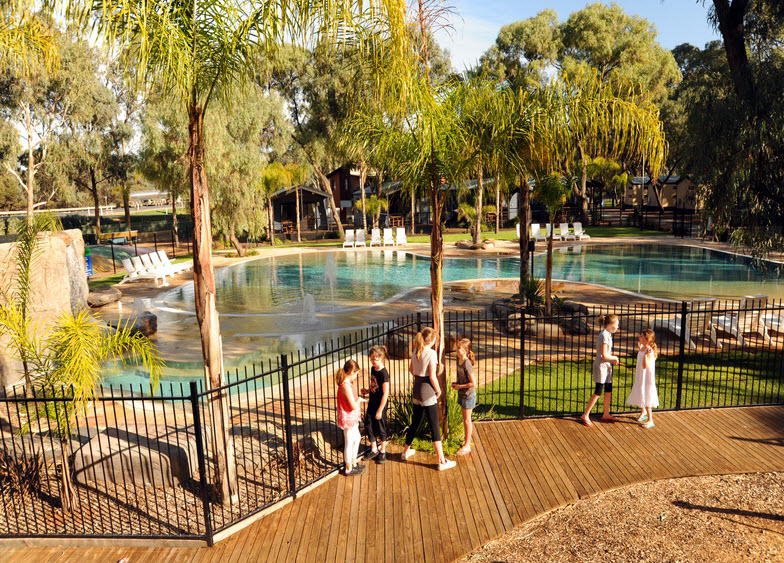 BIG4 Renmark Riverfront Caravan Park - Accommodation in Bendigo