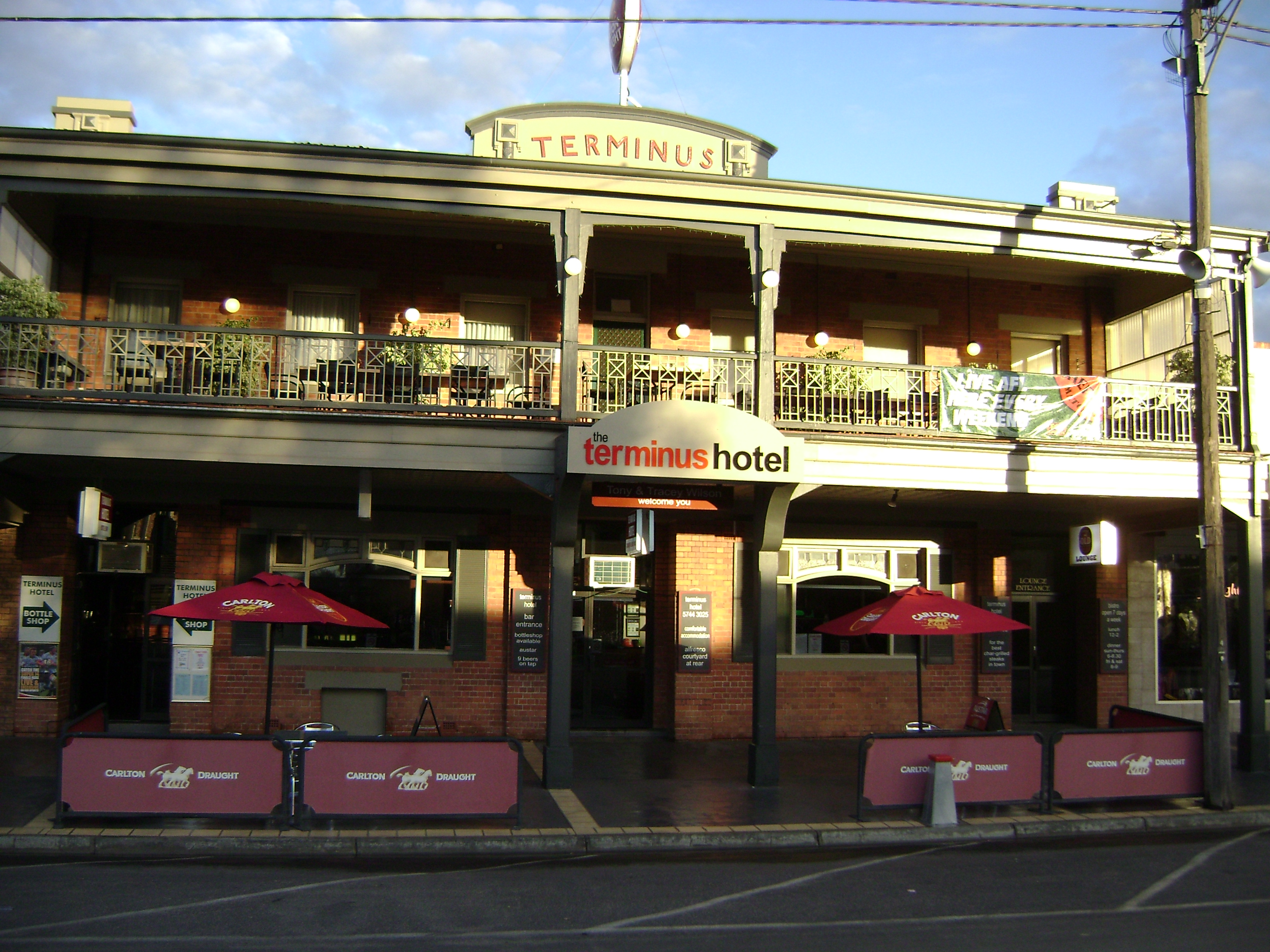 Terminus Hotel - Accommodation in Bendigo