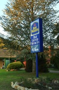 Best Western High Country Motor Inn - Accommodation in Bendigo