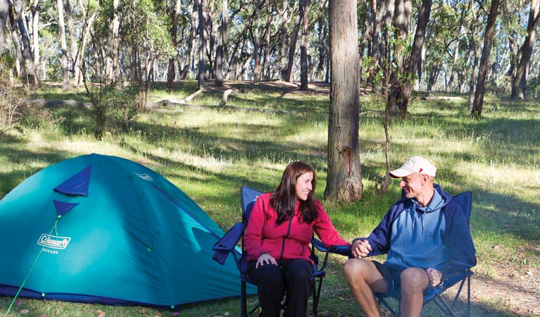 Apsley Falls campground - Accommodation in Bendigo