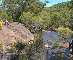 Kingfisher Pool Campground - Accommodation in Bendigo