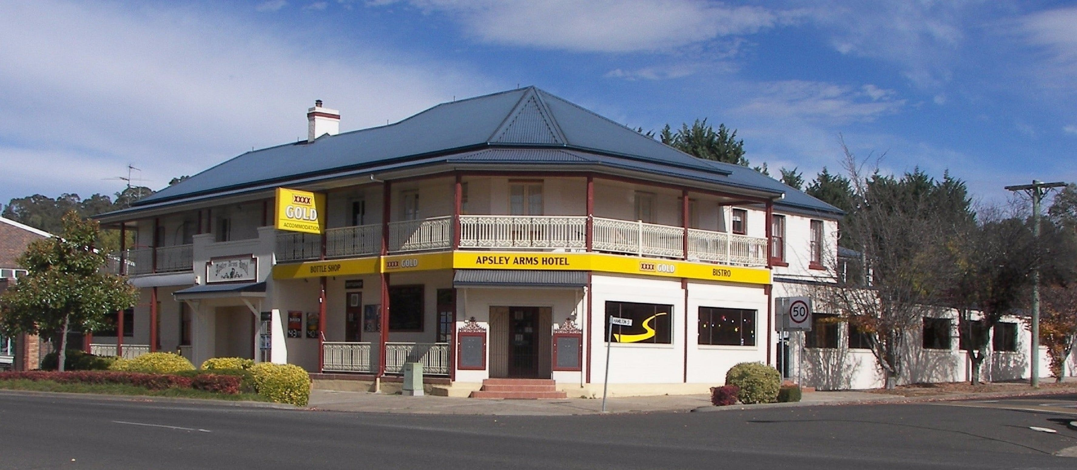 Apsley Arms Hotel - Accommodation in Bendigo