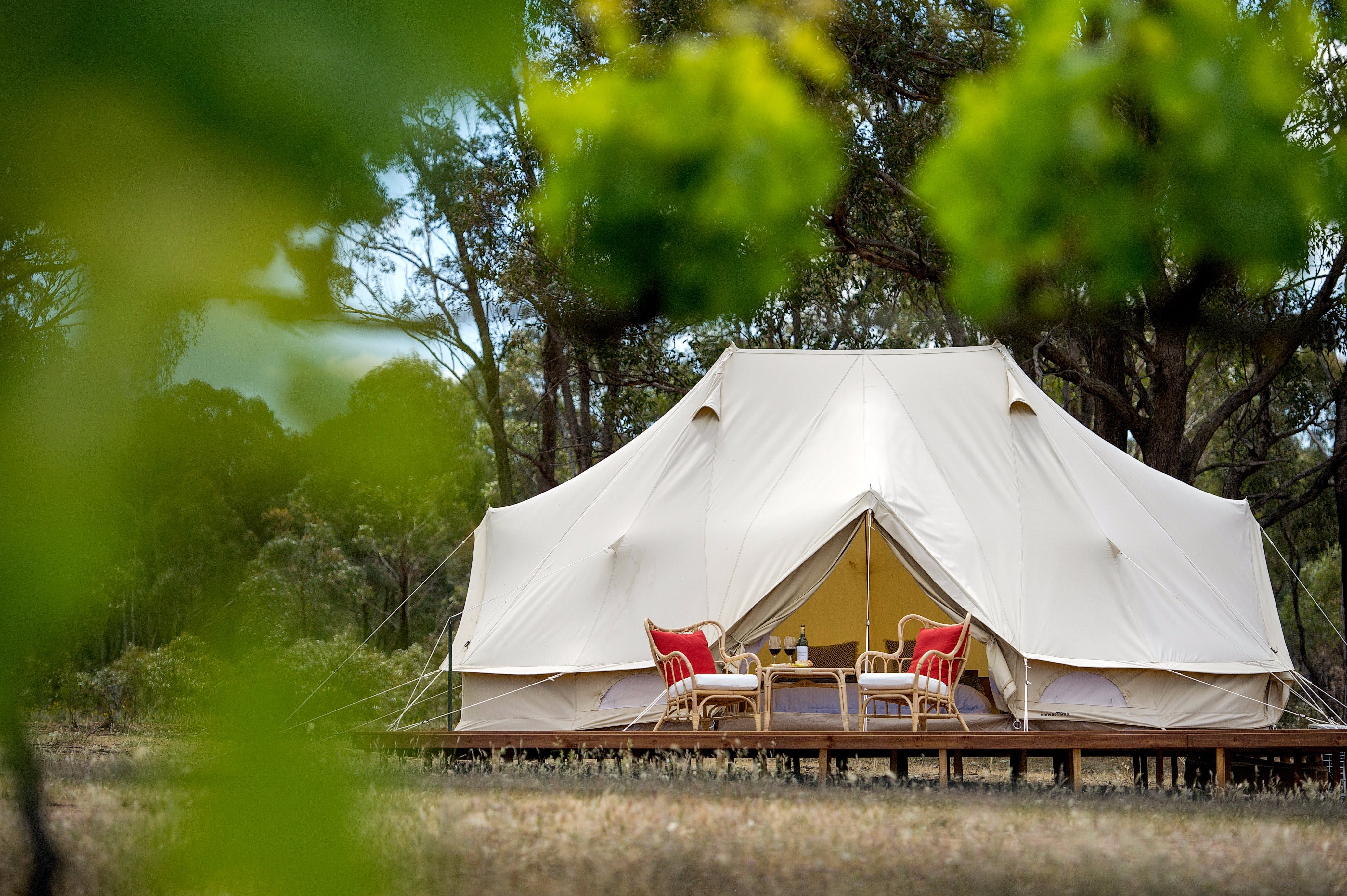 Balgownie Estate Winery Glamping  Accommodation - Accommodation in Bendigo