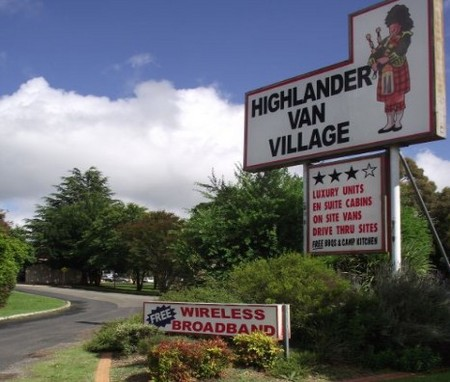 Highlander Van Village - Accommodation in Bendigo