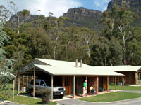 Halls Gap Log Cabins - Accommodation in Bendigo