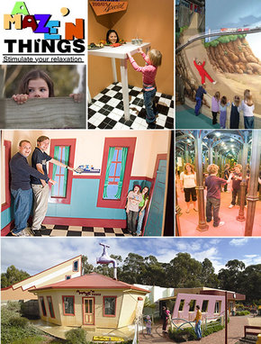 A Maze 'N Things - Accommodation in Bendigo