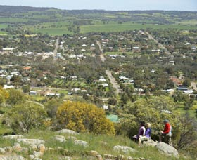 Mount Brown Lookout - Accommodation in Bendigo