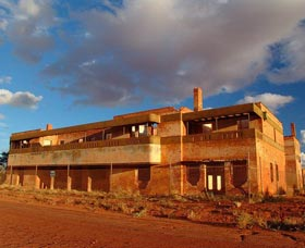 Big Bell Ghost Town - Accommodation in Bendigo