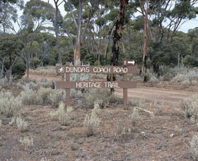 Dundas Rocks and Lone Grave - Accommodation in Bendigo