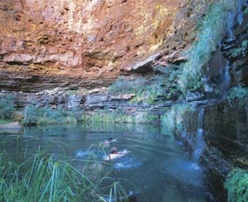Dales Gorge and Circular Pool - Accommodation in Bendigo