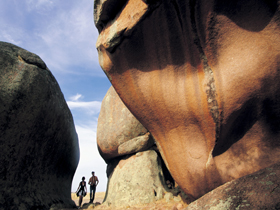 Murphy's Haystacks - Ancient Granite Rock - Accommodation in Bendigo