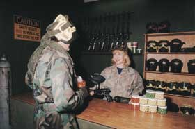 Indoor Skirmish - Paintball Sports - Accommodation in Bendigo