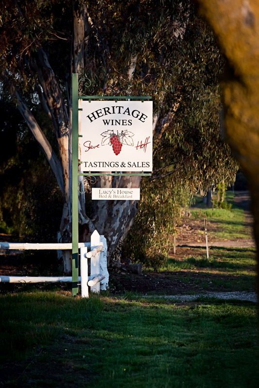Heritage Wines - Accommodation in Bendigo