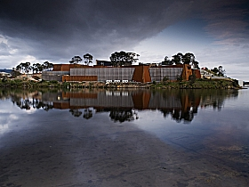 Museum of Old and New Art - MONA - Accommodation in Bendigo