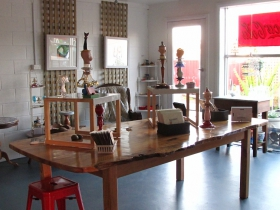Portside Open Studio/Gallery of GINA - Accommodation in Bendigo