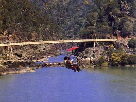 Launceston Cataract Gorge  Gorge Scenic Chairlift - Accommodation in Bendigo