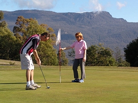 Poatina Golf Course - Accommodation in Bendigo