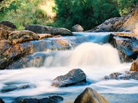 Crows Nest Falls - Accommodation in Bendigo