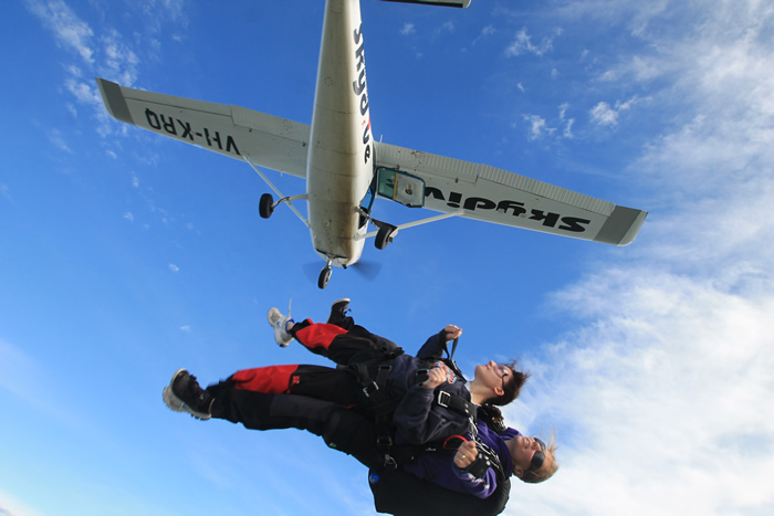Australian Skydive - Accommodation in Bendigo