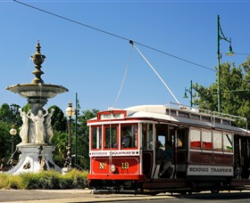 Bendigo Tramways Vintage Talking Tram Tour - Accommodation in Bendigo