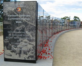 Vietnam Veterans Commemorative Walk - Accommodation in Bendigo