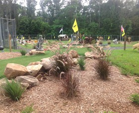 The Cove Miniature Golf Course - Accommodation in Bendigo