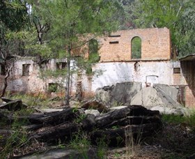 Newnes Shale Oil Ruins - Accommodation in Bendigo