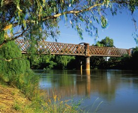 Narrandera Rail Bridge - Accommodation in Bendigo