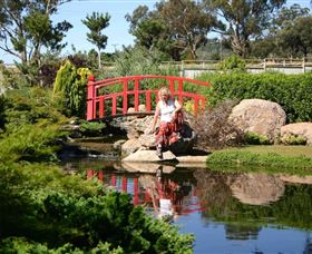 Wellington Osawano Japanese Gardens - Accommodation in Bendigo