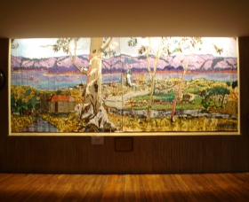 Adaminaby Memorial Hall Stage Curtain - Accommodation in Bendigo