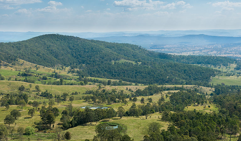 Tooloom lookout - Accommodation in Bendigo