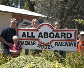 All Aboard Braemar Model Railways - Accommodation in Bendigo