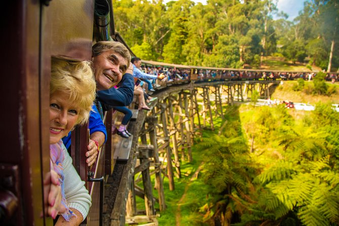Puffing Billy Steam Train  Healesville Wildlife Sanctuary Tour From Melbourne