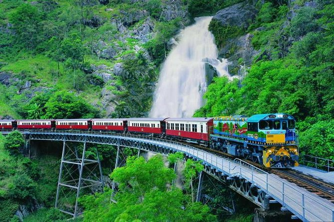 Full-Day Tour with Kuranda Scenic Railway Skyrail Rainforest Cableway and Hartley's Crocodile Adventures from Cairns - Accommodation in Bendigo