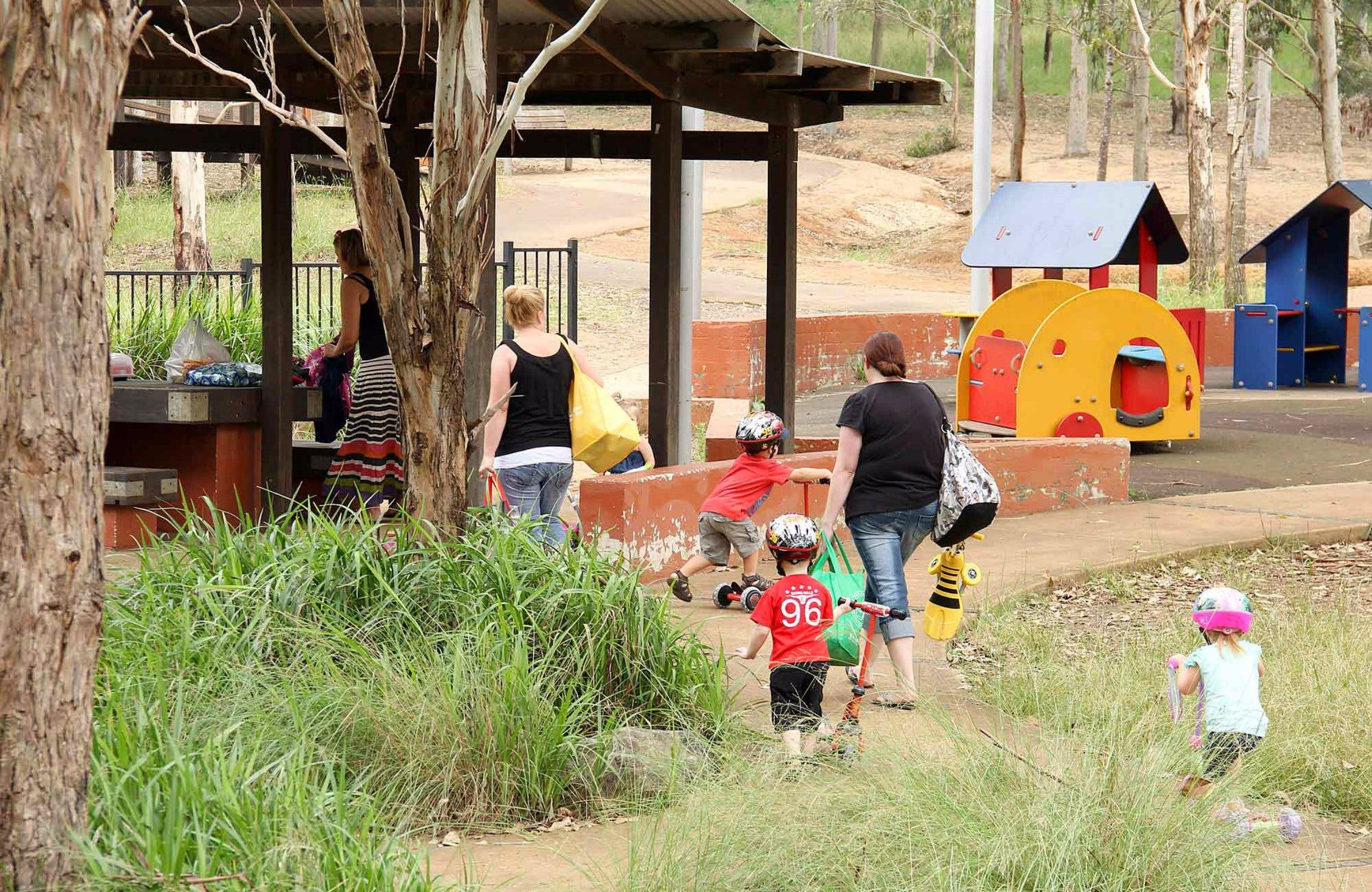 Rouse Hill picnic area and playground - Accommodation in Bendigo