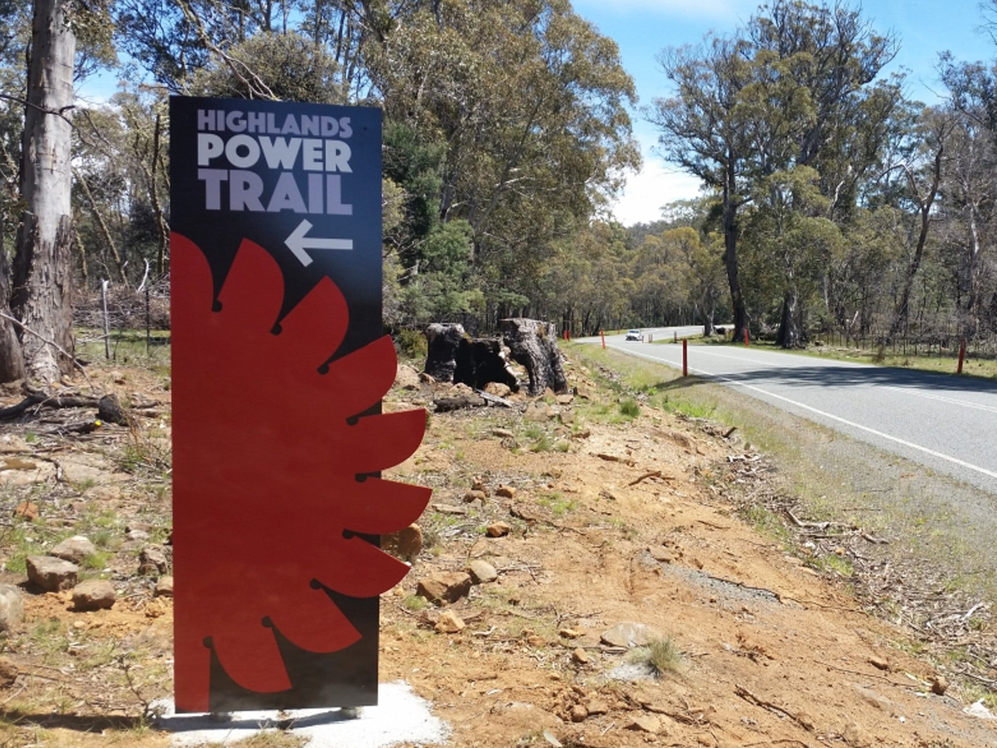 Highlands Power Trail - Accommodation in Bendigo
