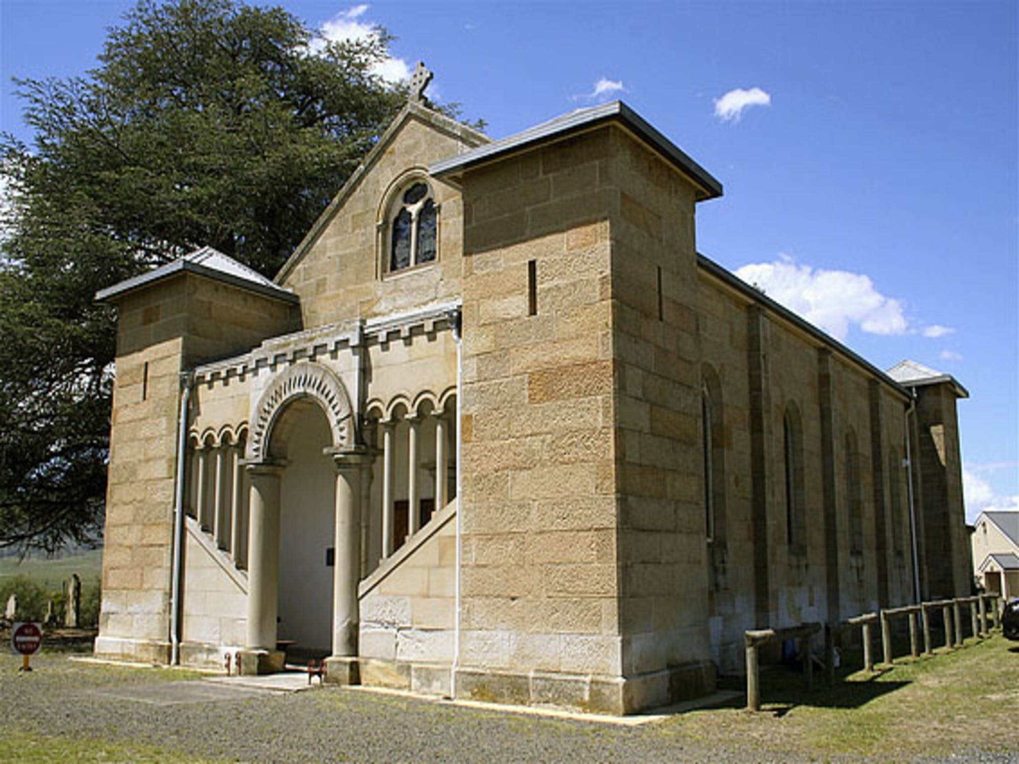 St Mark's Church Pontville - Accommodation in Bendigo