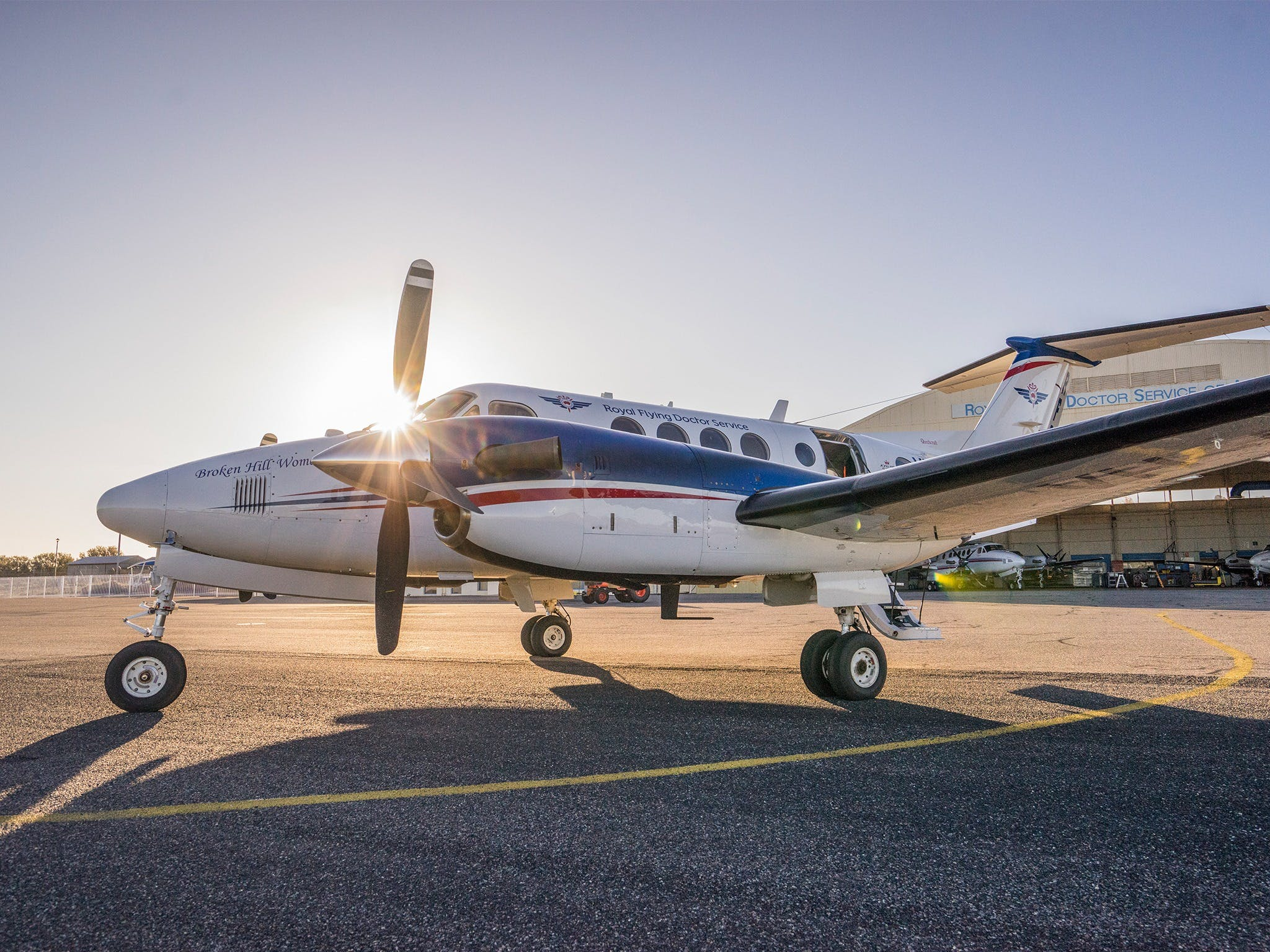 The Royal Flying Doctor Service Outback Experience in Broken Hill - Accommodation in Bendigo