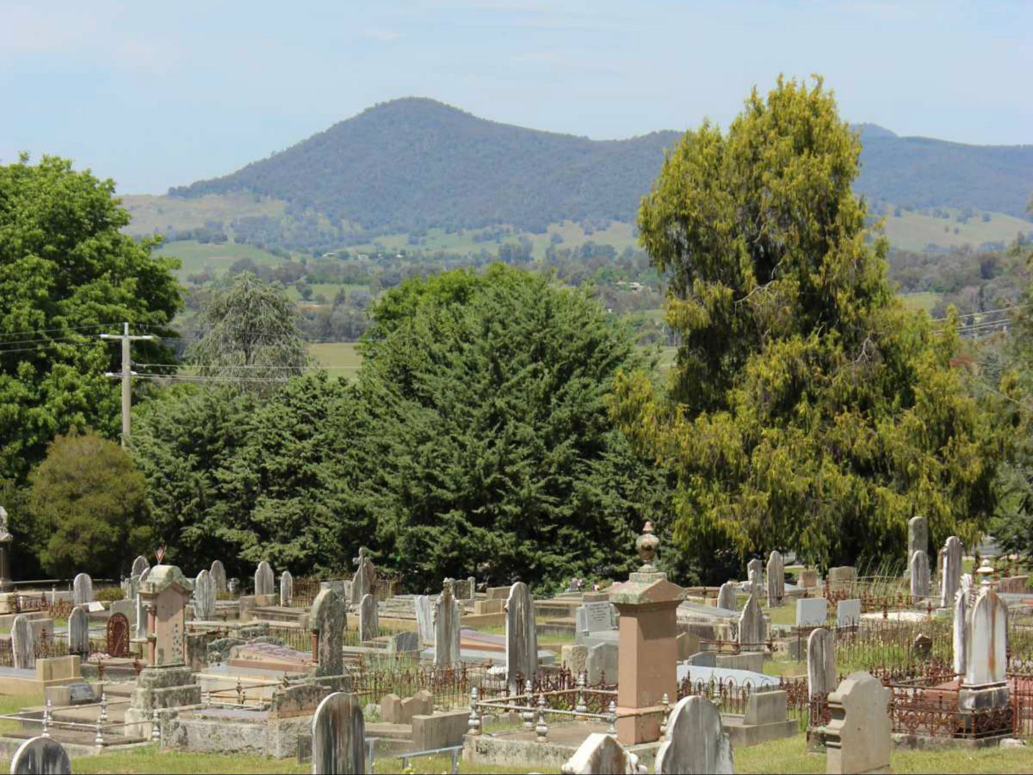 Yackandandah Cemetery - Accommodation in Bendigo