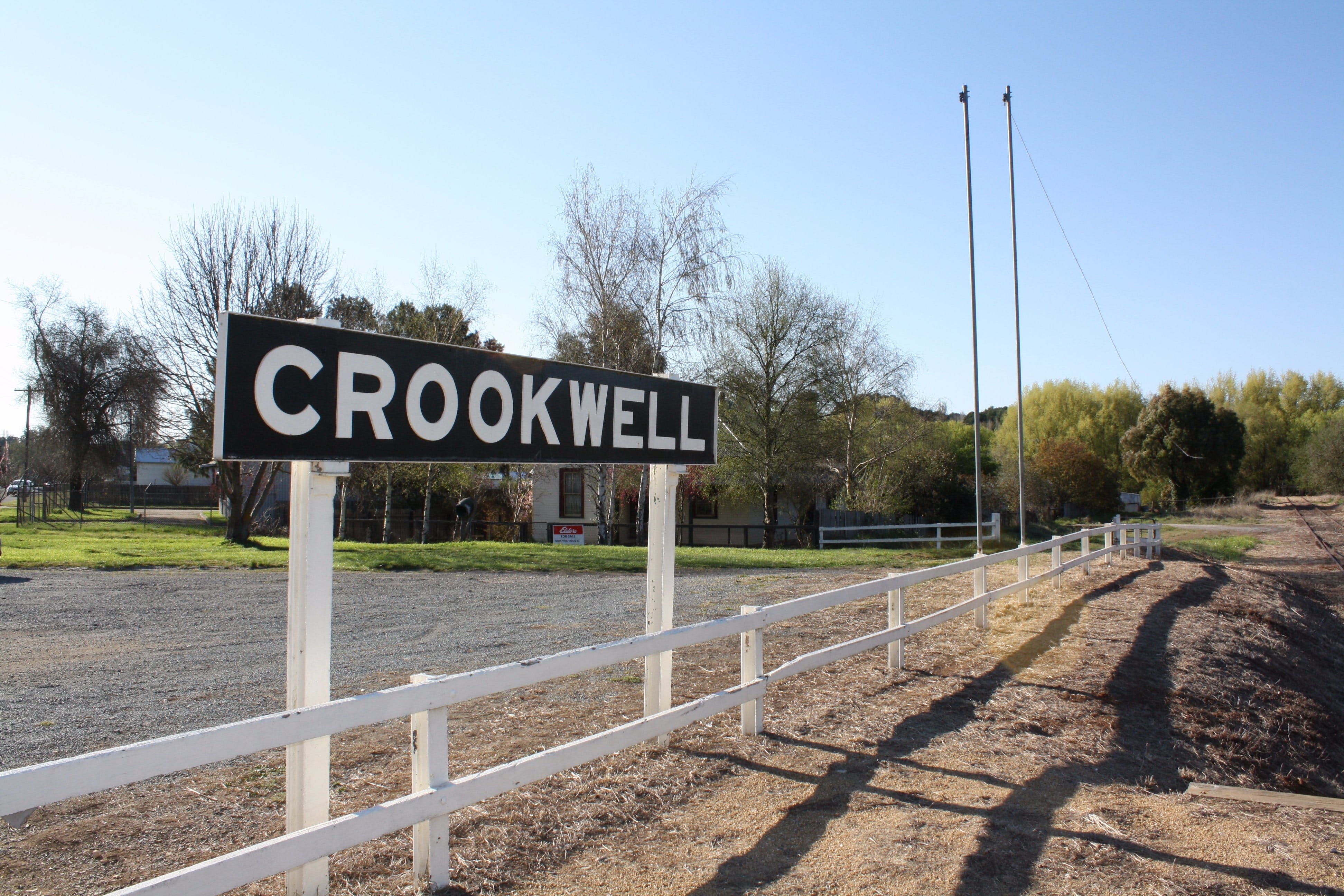Crookwell Railway Station - Accommodation in Bendigo