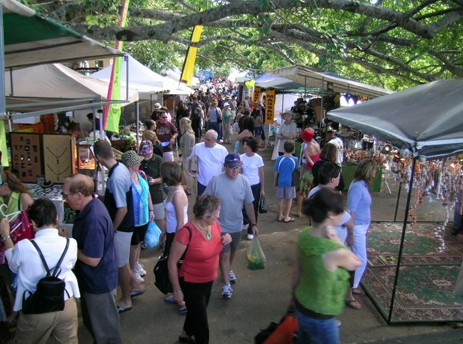 Eumundi Markets - Accommodation in Bendigo
