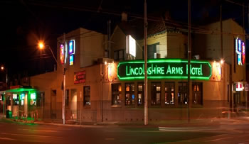 Lincolnshire Arms Hotel - Accommodation in Bendigo