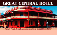 Great Central Hotel - Accommodation in Bendigo