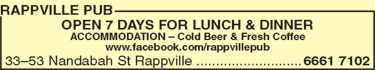 Rappville Pub - Accommodation in Bendigo