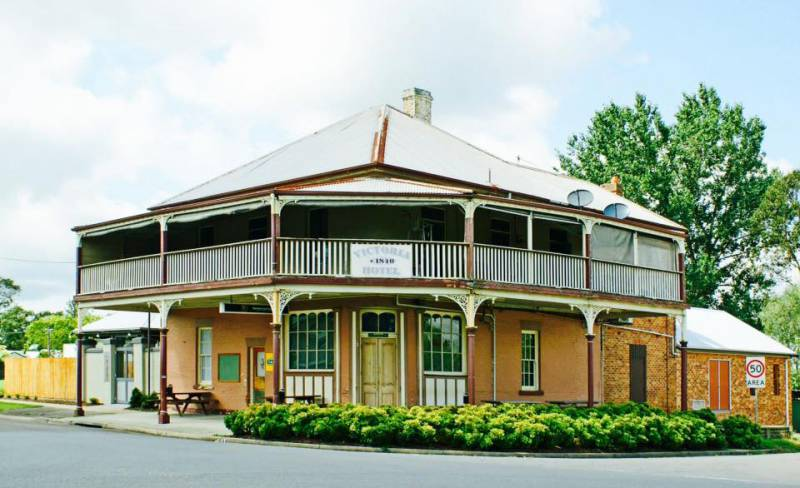 The Victoria Hotel Hinton - Accommodation in Bendigo