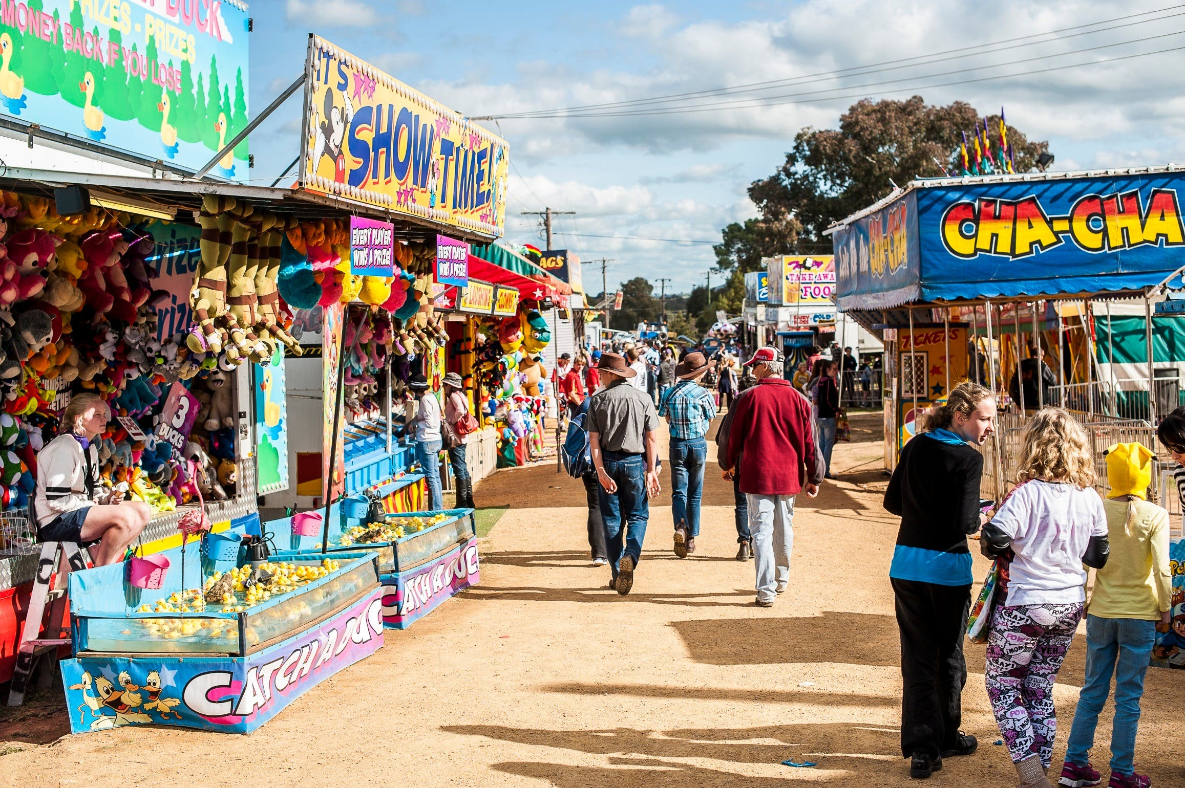 144th Annual Grenfell Show - Accommodation in Bendigo