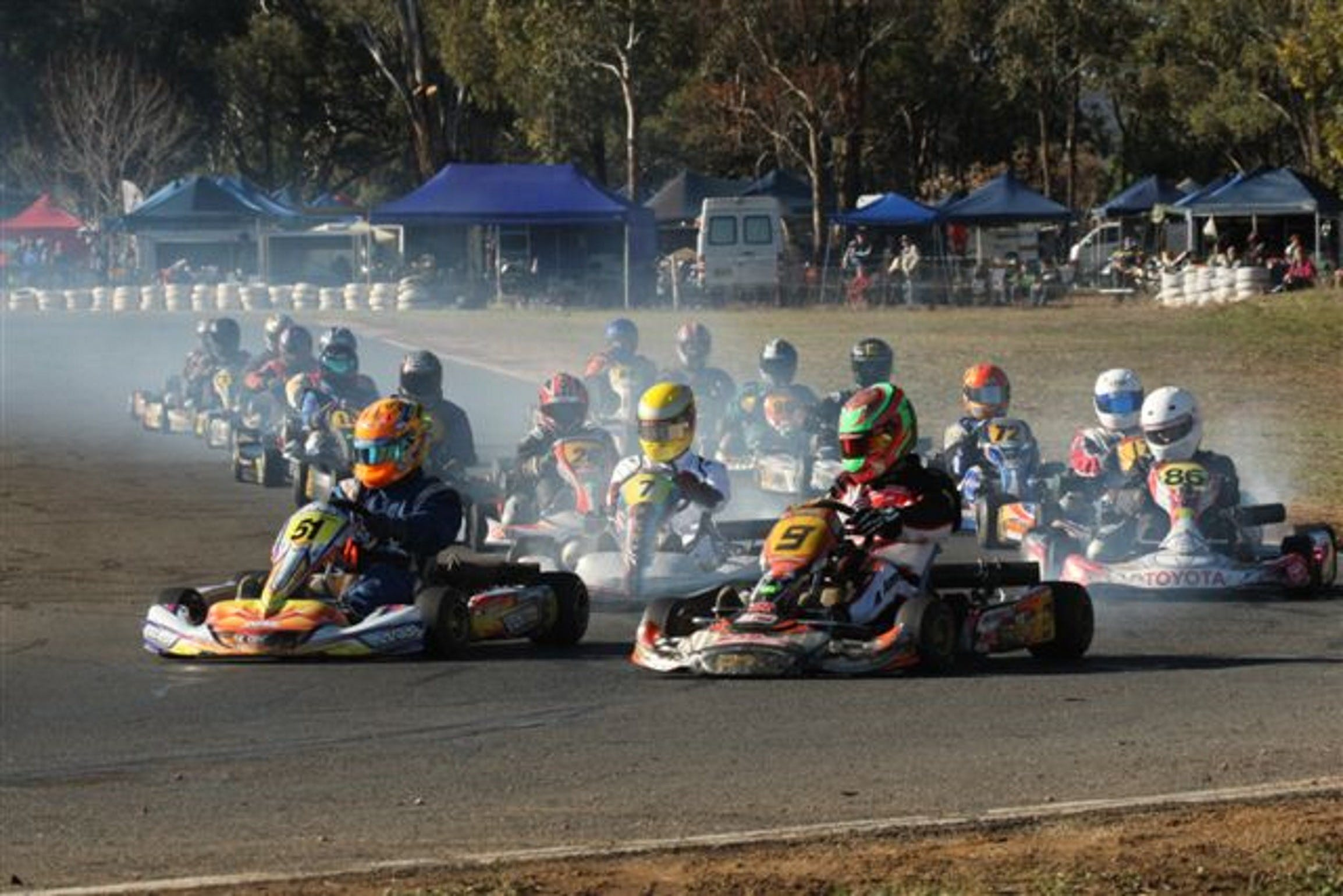 Grenfell Kart Club December Race Day - Accommodation in Bendigo